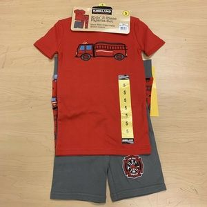 Kirkland Signature Kids Size 5 3-Piece Pajama Set
